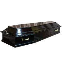 гроб лакированный